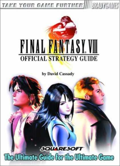 Bestsellers (2006) - Final Fantasy VIII Official Strategy Guide by David Cassady