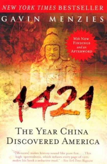 Bestsellers (2006) - 1421: The Year China Discovered America by Gavin Menzies