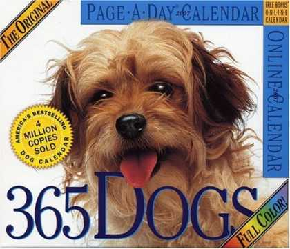 Bestsellers (2006) - The Original 365 Dogs Page-A-Day Calendar 2007 by Workman Publishing Company