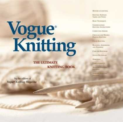 Bestsellers (2006) - Vogue Knitting: The Ultimate Knitting Book by Vogue Knitting Magazine Editors