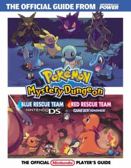 Bestsellers (2006) - Official Nintendo Pokémon Mystery Dungeon: Blue Rescue Team/Red Rescue Team