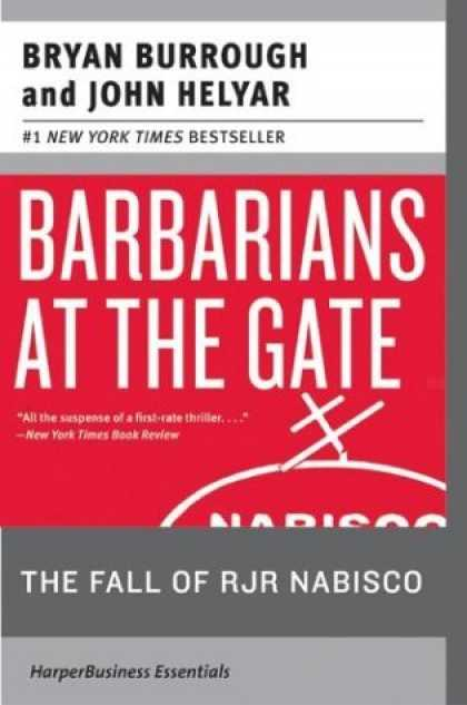 Bestsellers (2006) - Barbarians at the Gate: The Fall of RJR Nabisco by Bryan Burrough