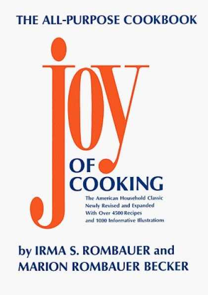 Bestsellers (2006) - Joy of Cooking by Irma S. Rombauer