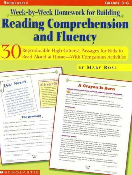 Bestsellers (2006) - Week-By-Week Homework for Building Reading Comprehension and Fluency by Mary Ros