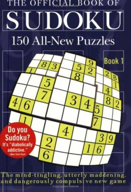 Bestsellers (2006) - The Official Book of Sudoku: Book 1 by Plume