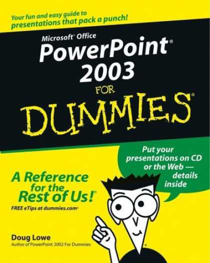 Bestsellers (2006) - PowerPoint 2003 for Dummies by Doug Lowe