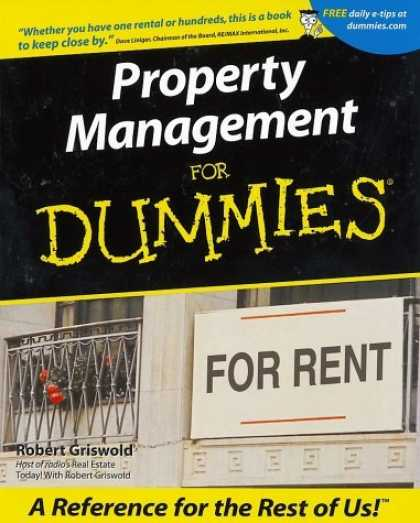 Bestsellers (2006) - Property Management for Dummies by Robert S. Griswold