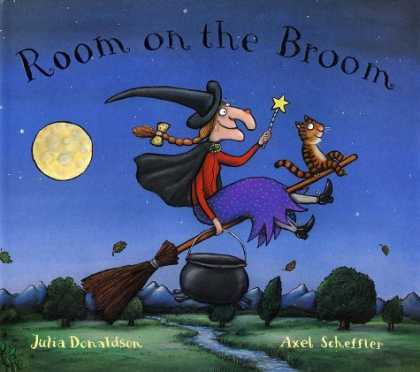 Bestsellers (2006) - Room on the Broom by Julia Donaldson