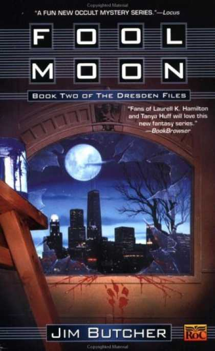 Bestsellers (2006) - Fool Moon (The Dresden Files, Book 2) by Jim Butcher