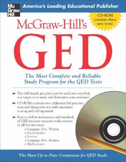 Bestsellers (2006) - McGraw-Hill's GED with CD-ROM (McGraw-Hill's GED (W/CD)) by Patricia Mulcrone