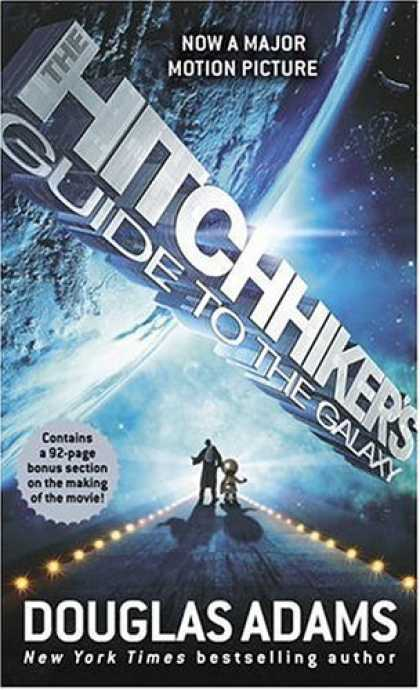 Bestsellers (2006) - The Hitchhiker's Guide to the Galaxy by Douglas Adams