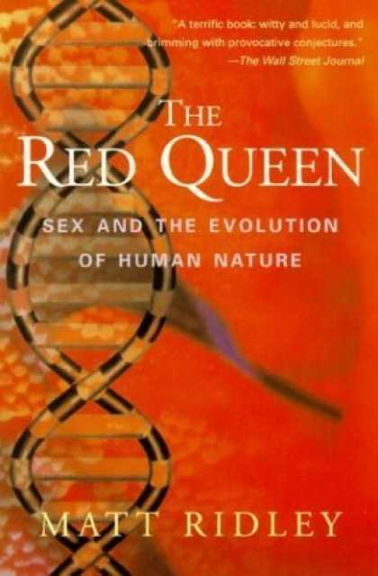 Bestsellers (2006) - The Red Queen: Sex and the Evolution of Human Nature by Matt Ridley