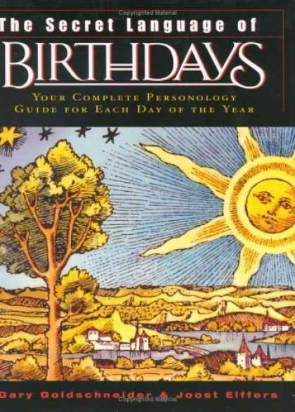 Bestsellers (2006) - The Secret Language of Birthdays (reissue) by Gary Goldschneider