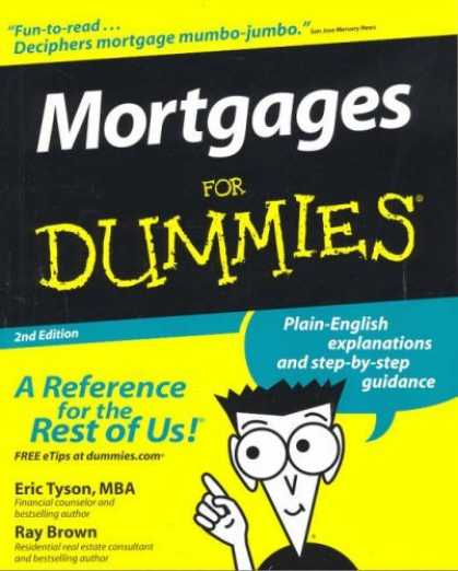 Bestsellers (2006) - Mortgages For Dummies, 2nd Edition by Eric Tyson