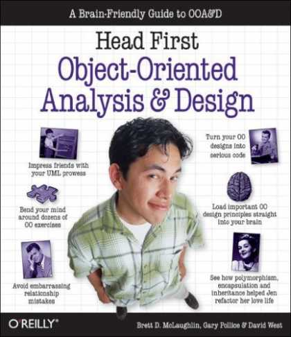 Bestsellers (2006) - Head First Object-Oriented Analysis and Design: A Brain Friendly Guide to Ooa&d