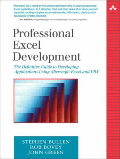 Bestsellers (2006) - Professional Excel Development: The Definitive Guide to Developing Applications