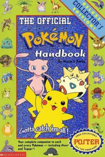 Bestsellers (2006) - The Official Pokémon Handbook by Maria Barbo