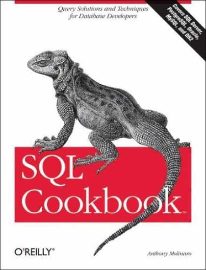 Bestsellers (2006) - SQL Cookbook (Cookbooks (O'Reilly)) by Anthony Molinaro