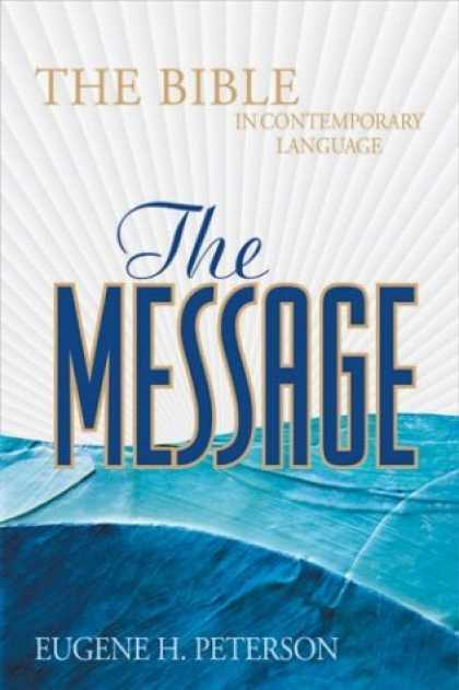 Bestsellers (2006) - The Message: The Bible In Contemporary Language, Burgundy Bonded Leather by Euge
