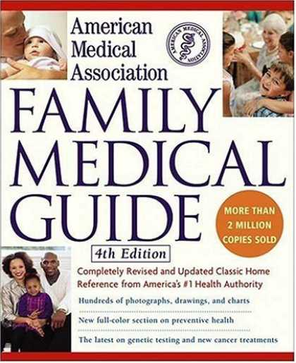 Bestsellers (2006) - American Medical Association Family Medical Guide, 4th Edition by American Medic