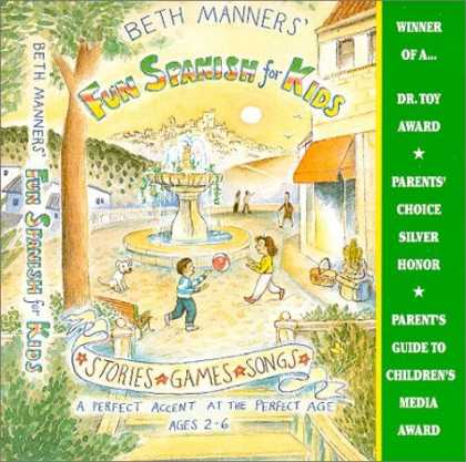 Bestsellers (2006) - Beth Manners' Fun Spanish for Kids: ages 2-6 by Beth Manners