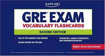 Bestsellers (2006) - GRE Exam Vocabulary Flashcards   by Kaplan