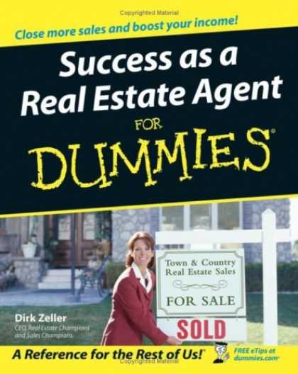 Bestsellers (2006) - Success as a Real Estate Agent For Dummies (For Dummies (Business & Personal Fin