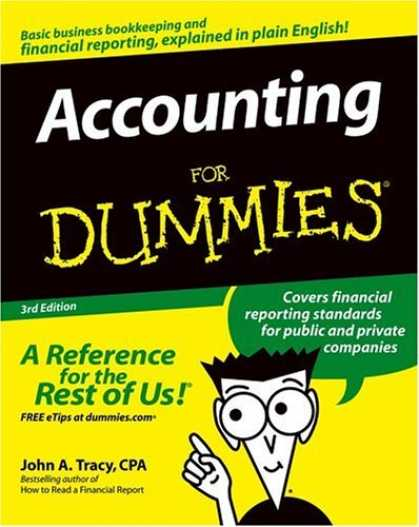 Bestsellers (2006) - Accounting For Dummies by John A. CPA Tracy