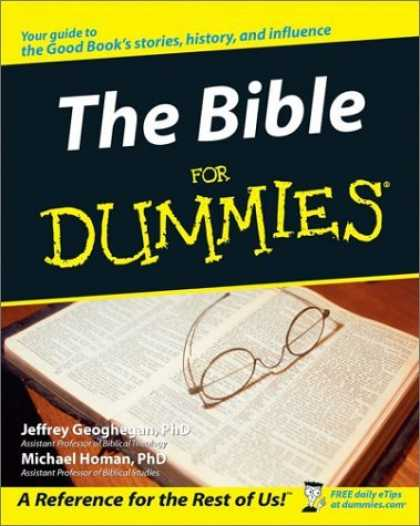 Bestsellers (2006) - The Bible for Dummies by Jeffrey C. Geoghegan