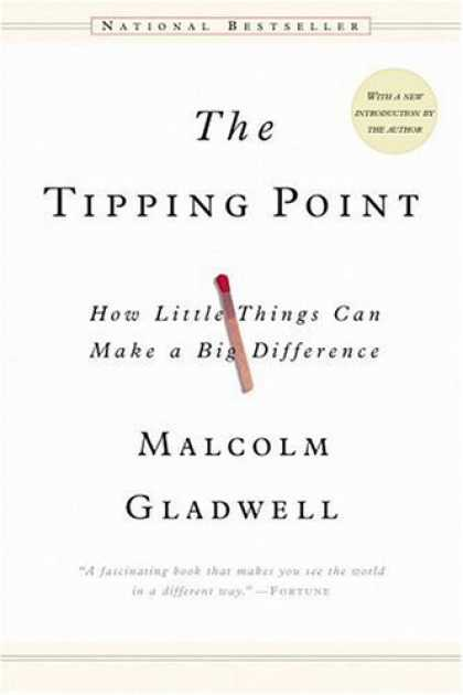 Bestsellers (2006) - The Tipping Point: How Little Things Can Make a Big Difference by Malcolm Gladwe