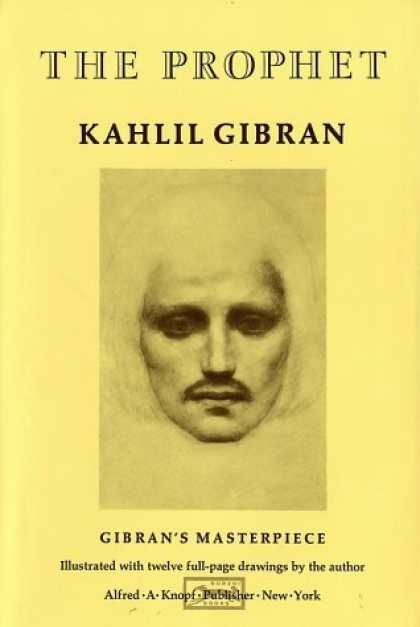 Bestsellers (2006) - The Prophet by Kahlil Gibran