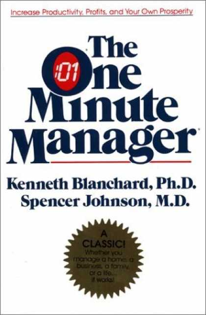 Bestsellers (2006) - The One Minute Manager Anniversary Ed: The World's Most Popular Management Metho