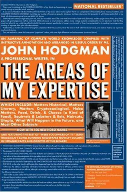 Bestsellers (2006) - The Areas of My Expertise by John Hodgman