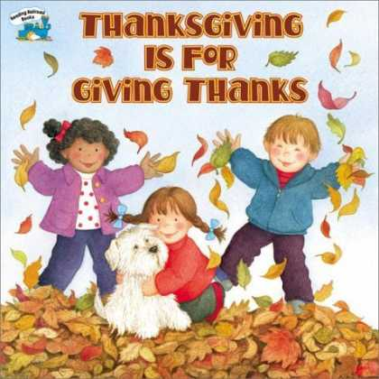 Bestsellers (2006) - Thanksgiving Is for Giving Thanks by Margaret Sutherland