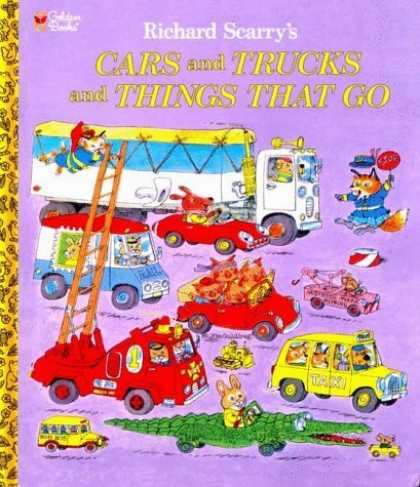 Bestsellers (2006) - Cars and Trucks and Things That Go (Giant Little Golden Book) by Richard Scarry
