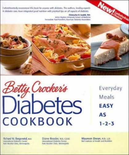 Bestsellers (2006) - Betty Crocker's Diabetes Cookbook: Everyday Meals, Easy as 1-2-3 by Betty Crocke