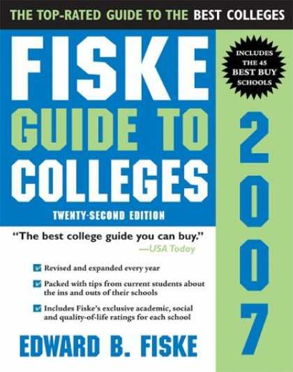 Bestsellers (2006) - Fiske Guide to Colleges 2007 (Fiske Guide to Colleges) by Edward Fiske