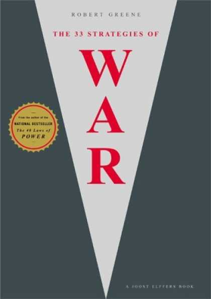 Bestsellers (2006) - The 33 Strategies of War by Robert Greene