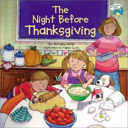 Bestsellers (2006) - The Night Before Thanksgiving (Reading Railroad Books) by Natasha Wing