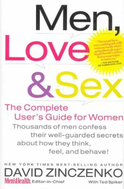 Bestsellers (2006) - Men, Love & Sex: The Complete User's Guide for Women by David Zinczenko