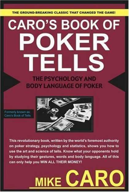 Bestsellers (2006) - Caro's Book of Poker Tells by Mike Caro