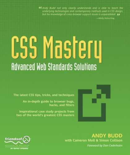 Bestsellers (2006) - CSS Mastery: Advanced Web Standards Solutions by Andy Budd