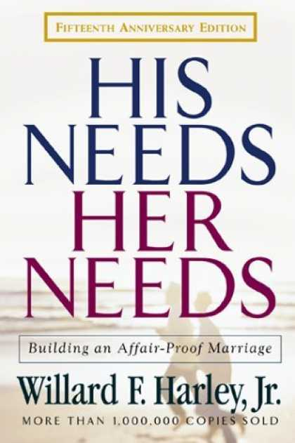 Bestsellers (2006) - His Needs, Her Needs: Building an Affair-Proof Marriage by Willard F. Harley Jr.
