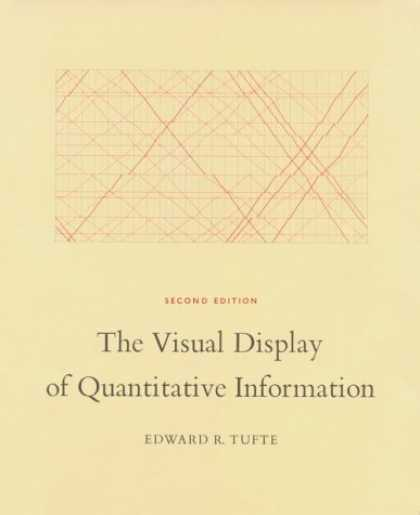 Bestsellers (2007) - The Visual Display of Quantitative Information, 2nd edition by Edward R. Tufte