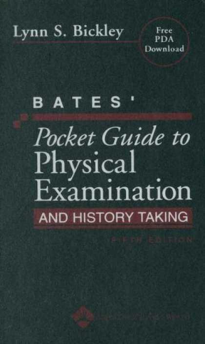 Bestsellers (2007) - Bates' Pocket Guide to Physical Examination and History Taking (Professional Gui