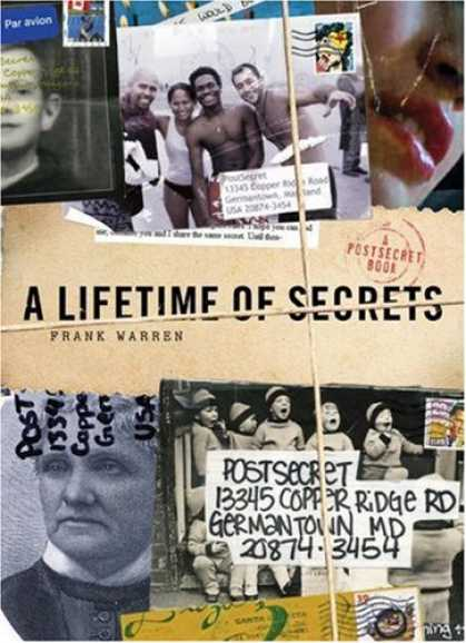 Bestsellers (2007) - A Lifetime of Secrets: A PostSecret Book by Frank Warren