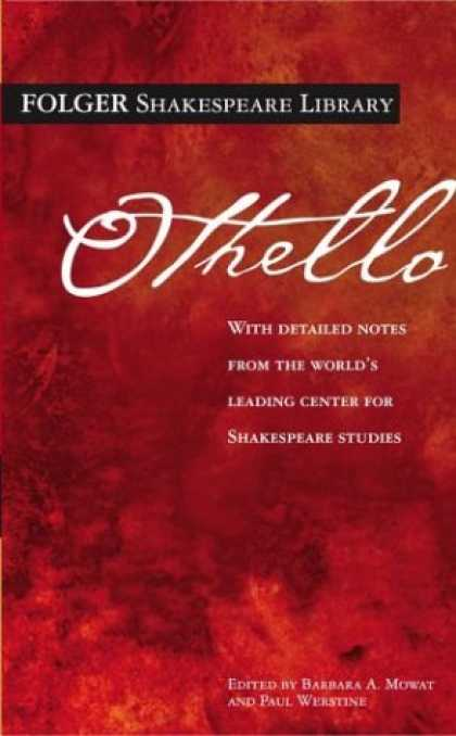 Bestsellers (2007) - Othello (Folger Shakespeare Library) by William Shakespeare