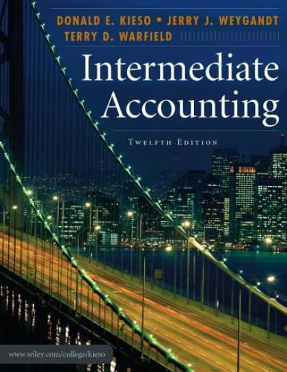 Bestsellers (2007) - Intermediate Accounting by Donald E. Kieso
