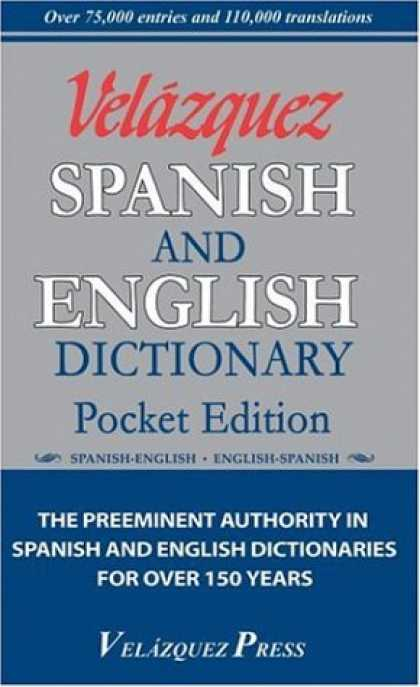 Bestsellers (2007) - Velazquez Spanish And English Dictionary Pocket Edition