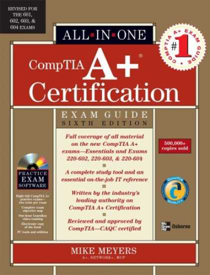 Bestsellers (2007) - A+ Certification All-in-One Exam Guide, Sixth Edition (A+ Certification All in O